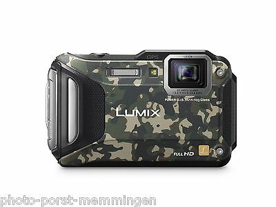 Panasonic Lumix DMC FT5 FT 5 EG Z = camouflage  vom Fachhändler *PHOTO-PORST*