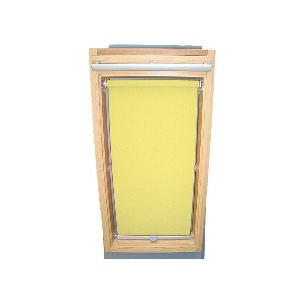Dachfensterrollo Abdunkelungsrollo Rollo für Blefa BL BSK - gelb gelb gelb   Qualifizierte Herstellung  7a7d3b
