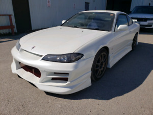 2000 and 2001 Nissan Silvia spec S 5 speed manual