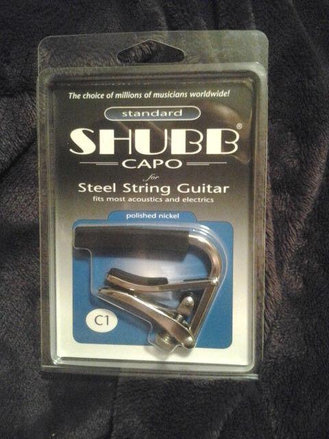 Nickel Capo for Steel String Guitar Chrome Standard