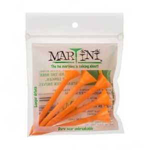 New-Authentic-Orange-Martini-Tees-de-golf-Vous-Choisissez-La-Quantite