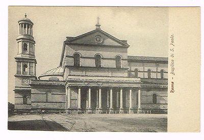 Vintage Postcard Italy 1900 ROMA ROME BASILICA DI SAN ...