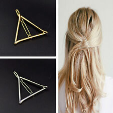 2X.Women Korean Style Triangle Hairpin Hair Clip Hair Accessories Bobby Pins Top