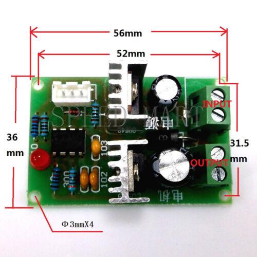 High Quality 12V-36V 3A DC Motor Speed Control PWM HHO RC Controller 24V 12V