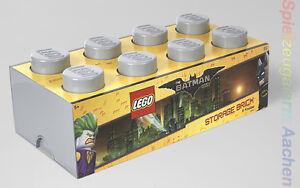 LEGO The Movie Batman Storage XXL Brick Stein Grau 2x4 Aufbewahrung Dose Kiste