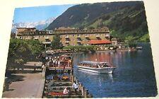 Austria Bergstadt Zell am See Seepromenade mit Grand Hotel - posted 1969