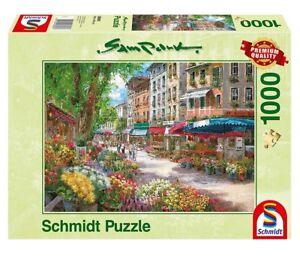 BLICK VON SANTORIN Schmidt Puzzle 59875-1000 Pcs. SAM PARK