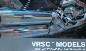 2008 harley davidson vrod v rod vrsc models operators owner s owners rh ebay com harley davidson v rod muscle owners manual harley davidson v rod user manual