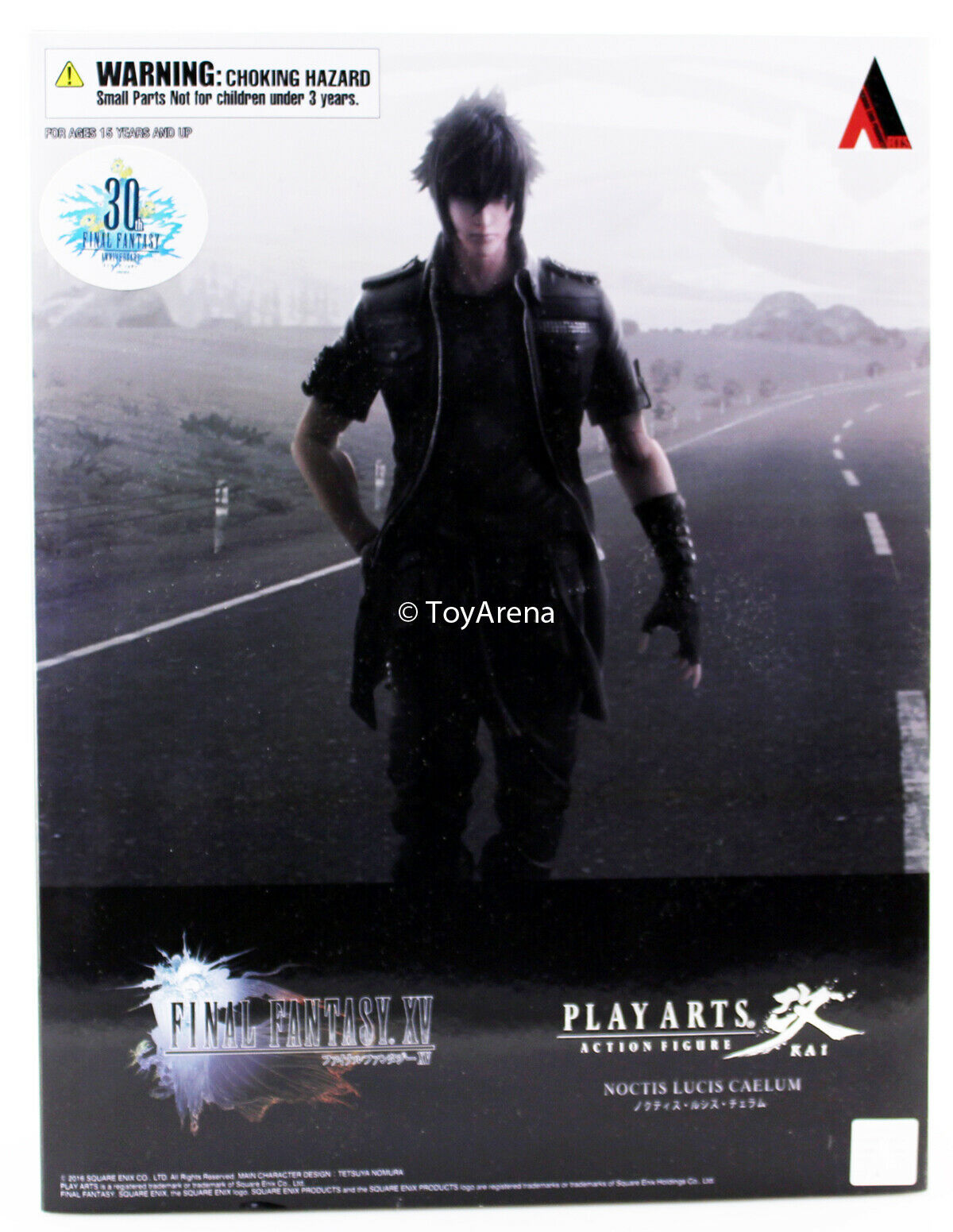 Final Fantasy XV guapas Lucis caelum Jugar Arts Kai Figura de acción nos Auténtico