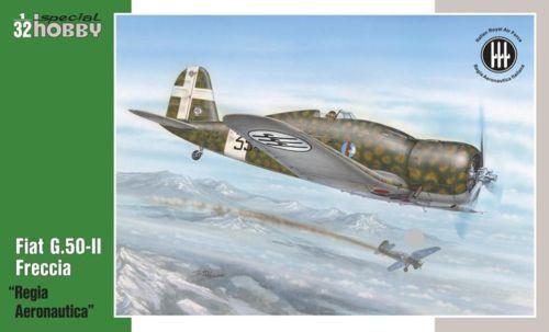 Special Hobby 1 32 Fiat G.50-II  Regia Aeronautica