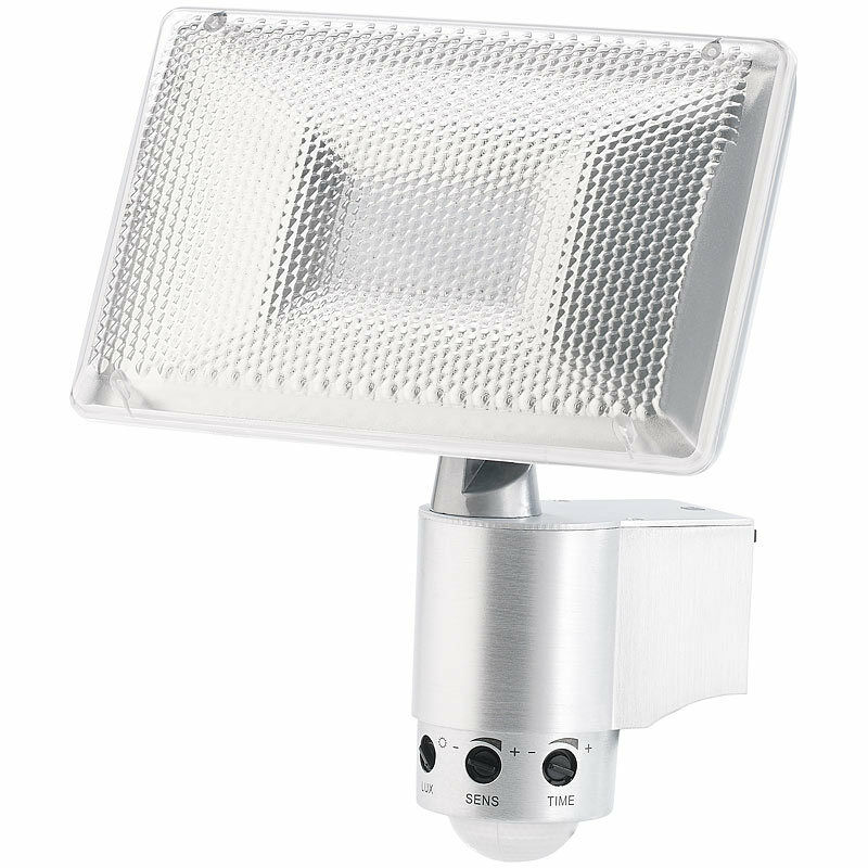 Luminea LED-Fluter, Aluminium, 13,5 Watt, IP44, mit Bewegungssensor | Bekannt für seine hervorragende Qualität  | Günstige Bestellung  | Angenehmes Gefühl