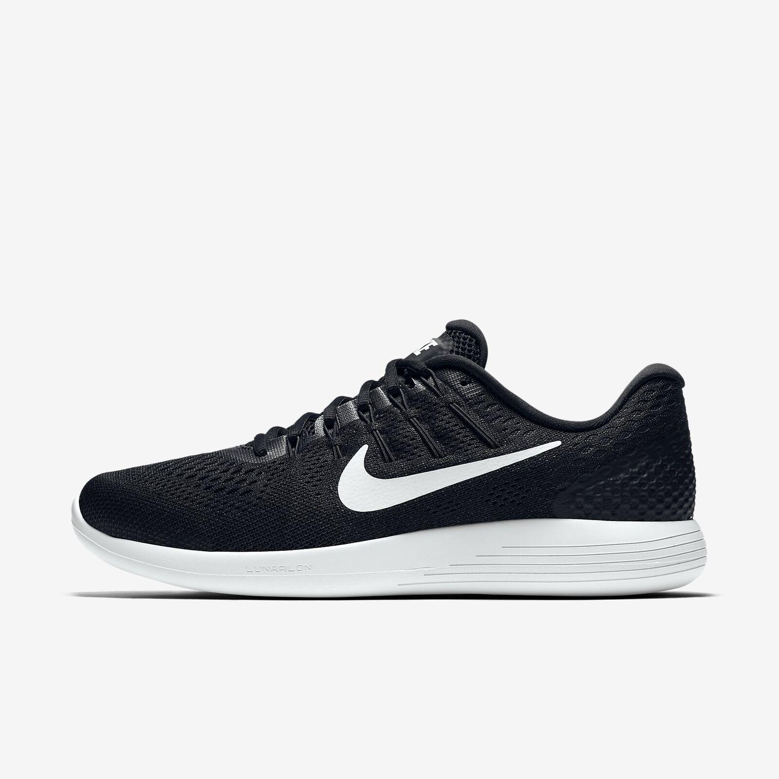Men's Nike 11 Lunarglide 8 Running Shoes Black White Size 11 Nike AA8676 001 NIB 8bd991