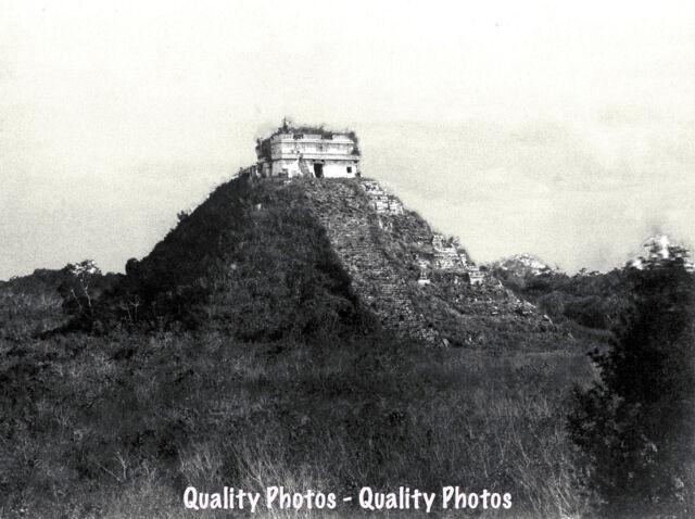 CHICHEN ITZA MAYAN PYRAMID RUINS COLUMNS MEXICO MATTE PRINT POSTER SIZE