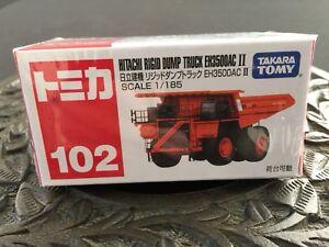TOMICA-102-HITACHI-RIGID-DUMP-TRUCK-DIECAST-Takara-Tomy-102