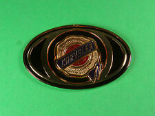 1X CHRYSLER 300 OVAL GOLD EMBLEM DECAL LOGO WING FRONT 05 06 07 08 09 10 OEM NEW