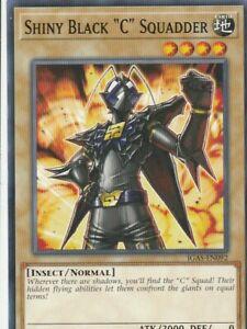 YUGIOH-CARD-1-X-SHINY-BLACK-034-C-034-SQUADDER-IGAS-EN092-1ST-EDITION