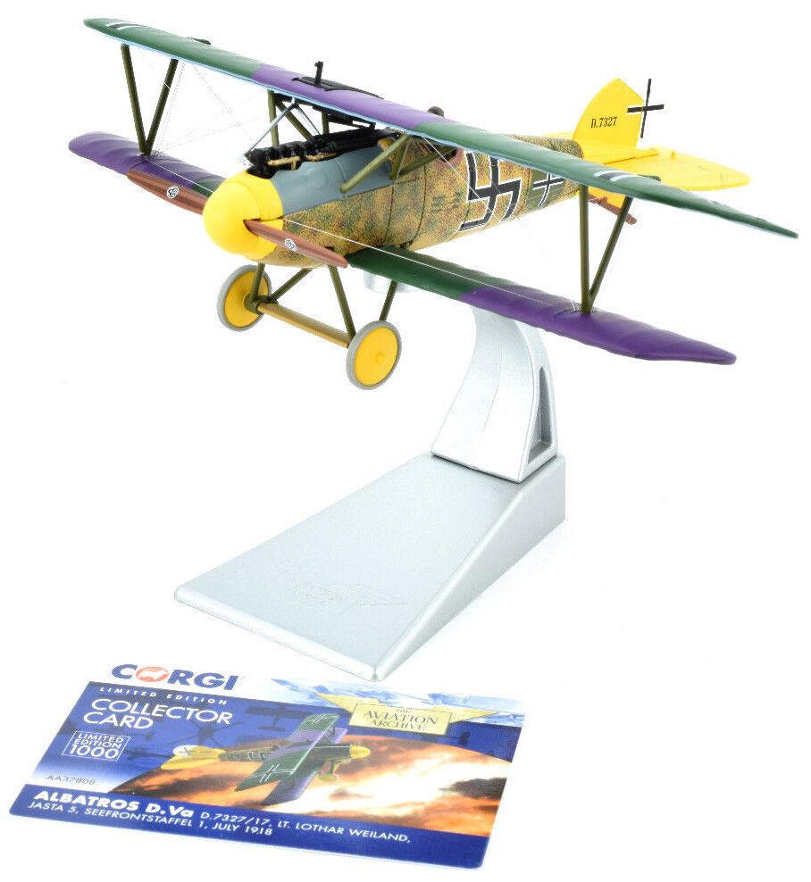 CORGI Albatros D. Va-Juillet 1918 1 48 Die-cast Avion AA37808