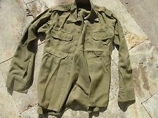 US Army campo Camicia Service shirt British Made Taglia S fieldshirt USMC Navy wk2 WWII