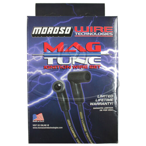 MADE IN USA Moroso Mag-Tune Spark Plug Wires Custom Fit Ignition Wire Set 9380M