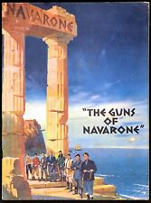 GUNS OF NAVARONE 1961 Gregory Peck, David Niven, Anthony Quinn UK BROCHURE