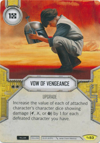 Vow Of Vengeance #53 Star Wars Destiny Across the Galaxy