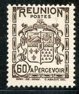 Timbres Colonies Francaises / La Reunion / Blason / Armoirie / Taxe N° 22 **