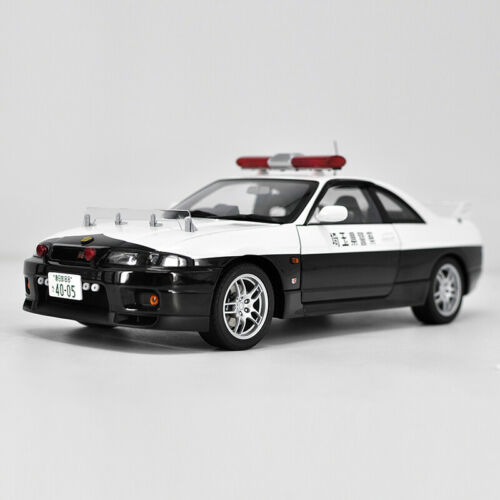 NEW 1:18 AUTOart NISSAN GT-R GTR POLICE DIVISION DIECAST DIE-CAST MODEL TOY CAR