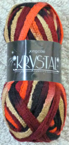 Knitting Wool 100g Krystal Scarf Yarn Knitting Wool Yarn King Cole