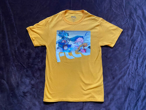 FLCL Anime Graphic T Shirt Size S Fooly Cooly Funi