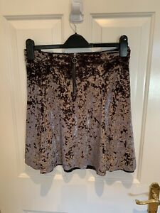 Next-Silver-Velvet-Skirt-Plus-Size-18
