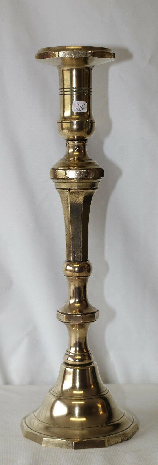 Pique cierge en bronze grand modèle Bougeoir