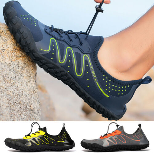 Water Shoes Barefoot Quick-Dry Aqua Mens Casual Beach Swim Water Sports Vacation