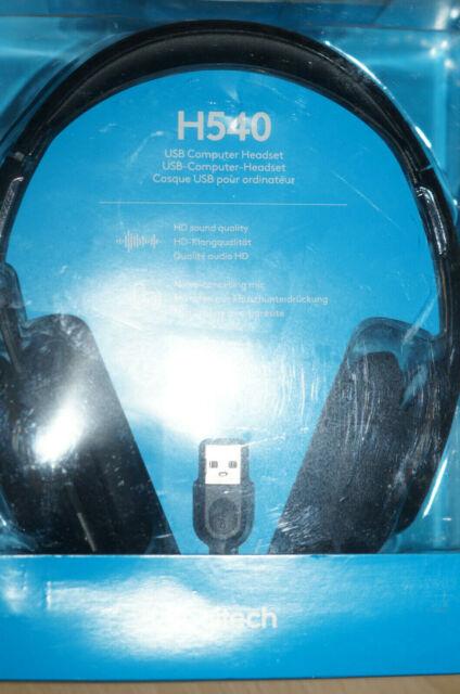 Logitech H540 Schwarz Headset