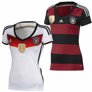 e93af58664880 adidas Damen DFB Trikot Deutschland Home Away 4 Sterne FIFA Fußball ...
