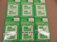 6 2-packs Walgreens Orthodontic Wax Mint Flavor