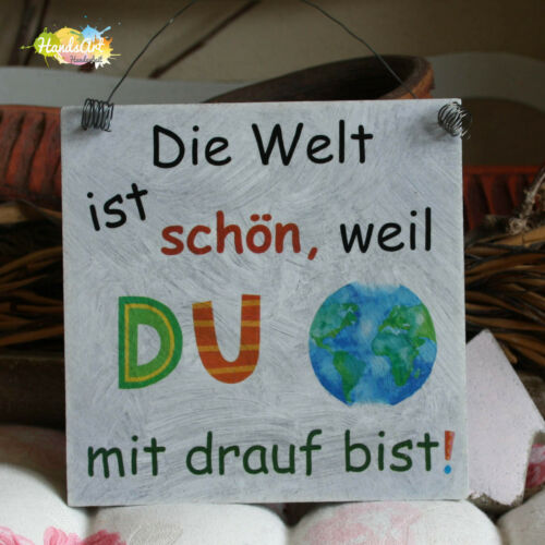 Shabbyschild the world is beautiful because you with plan are-Mothers Day Friendship
