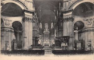 LONDON-UK-ST-PAUL-039-S-CATHEDRAL-INTERIOR-LOOKING-EAST-LL-LEVY-156-PHOTO-POSTCARD