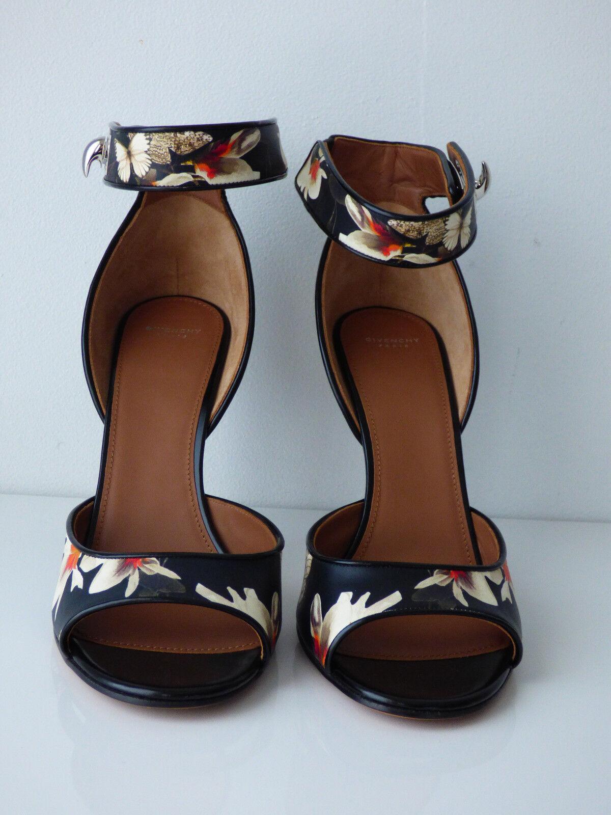 Sandales imprimées à fleurs en cuir multiFarbee multiFarbee multiFarbee Givenchy eda5ea