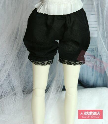 Black knickerbockers Short Pants baggys beach shorts1//3 SD DOD BJD Dollfie