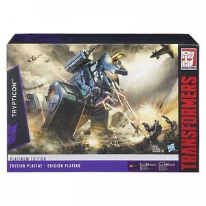 Réédition de Trypticon Transformers Platinum Edition G1 Figure 630509289417