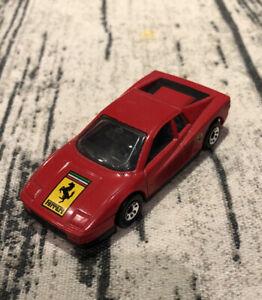 Matchbox-1986-Ferrari-Testarossa-F512-Red-Macau-Vintage-Car-Near-Mint-no-box