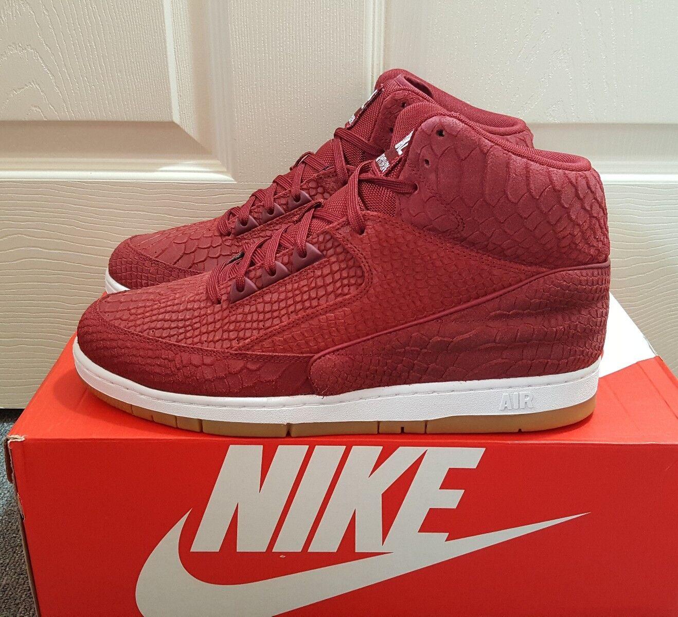 150 Nike Air Python PRM Red Men's shoes Sz 12 (705066 601)