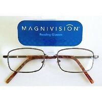 Foster Grant Magnivision Black Wire Frame Glasses (m83) Choose Your Strength