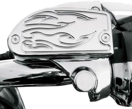 Chrome BA-7629-03* Baron Custom Accessories Master Cylinder Cover  Flame