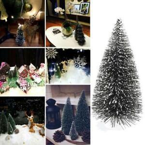 10x-Artificial-Tabletop-Christmas-Tree-Decorations-Festival-Miniature-Xmas-Tree