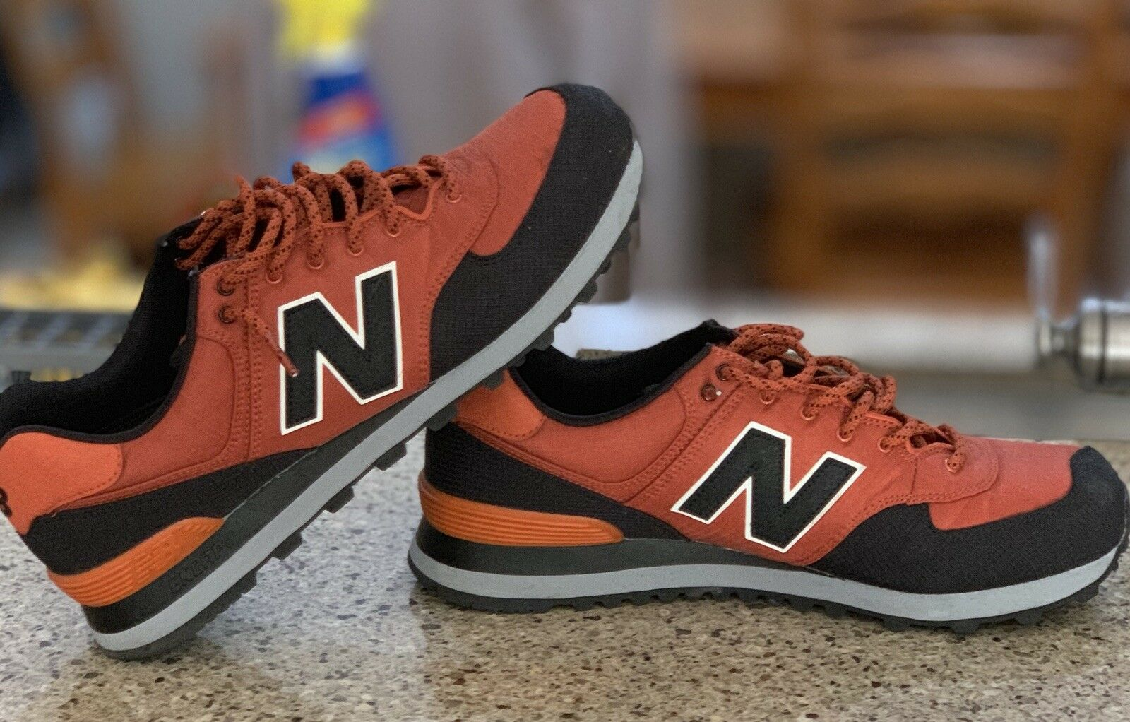 New Balance 574 Mens 12 Copper And Black
