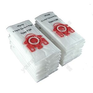 Pack Of 20 Miele S4221 Vacuum Bags Type FJM *Free Delivery*