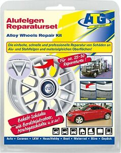 alloy wheels repair set curb damage scratch steel rims. Black Bedroom Furniture Sets. Home Design Ideas