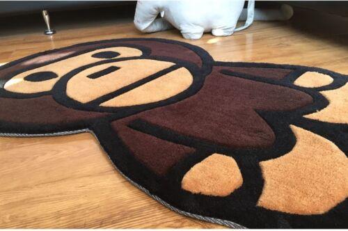 A Bathing Ape Bape Baby Milo Carpet Mat Bedroom Rug living Room area floor decor