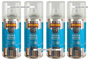 Details about 4x Hycote Volkswagen Deep Black Pearlescent LC9X Spray Paint